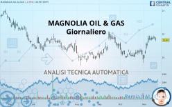 MAGNOLIA OIL & GAS - Ежедневно