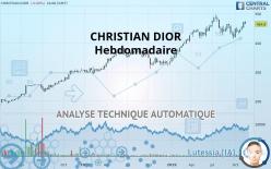 CHRISTIAN DIOR - Hebdomadaire
