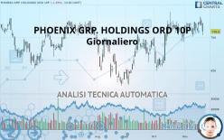 PHOENIX GRP. HOLDINGS ORD 10P - Ежедневно