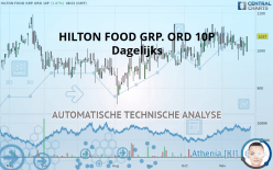 HILTON FOOD GRP. ORD 10P - Dagligen