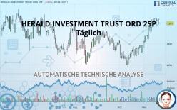 HERALD INVESTMENT TRUST ORD 25P - Dagligen