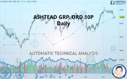 ASHTEAD GRP. ORD 10P - Dagligen
