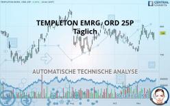 TEMPLETON EMRG. ORD 25P - Dagligen