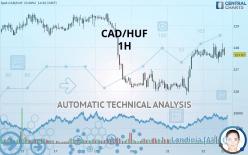 CAD/HUF - 1 小时