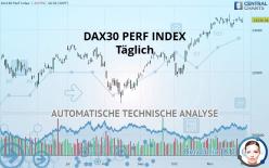 DAX30 PERF INDEX - Täglich