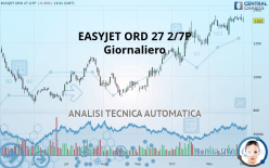 EASYJET ORD 27 2/7P - Giornaliero
