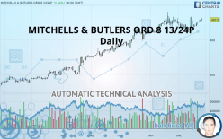 MITCHELLS & BUTLERS ORD 8 13/24P - Daily