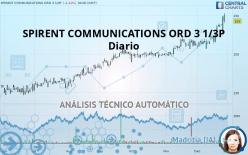 SPIRENT COMMUNICATIONS ORD 3 1/3P - Diario