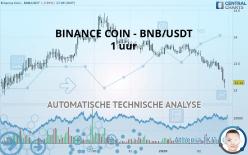 BINANCE COIN - BNB/USDT - 1 uur