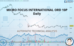 MICRO FOCUS INTERNATIONAL ORD 10P - Daily