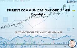 SPIRENT COMMUNICATIONS ORD 3 1/3P - Dagelijks