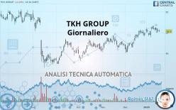 TKH GROUP - Giornaliero
