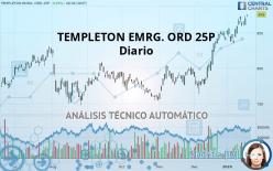 TEMPLETON EMRG. ORD 25P - Diario