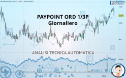 PAYPOINT ORD 1/3P - Giornaliero