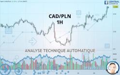 CAD/PLN - 1 小时