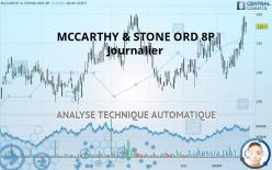MCCARTHY & STONE ORD 8P - Journalier