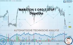 MARSTON S ORD 7.375P - Dagelijks