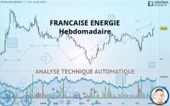 FRANCAISE ENERGIE - Hebdomadaire