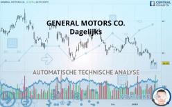 GENERAL MOTORS CO. - Dagelijks