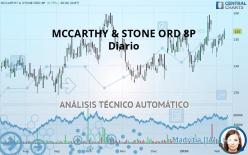 MCCARTHY & STONE ORD 8P - Diario