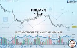 EUR/MXN - 1 Std.
