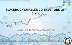 BLACKROCK SMALLER CO TRUST ORD 25P - Diario