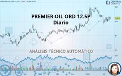 PREMIER OIL ORD 12.5P - Diario