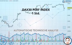 DAX30 PERF INDEX - 1 Std.