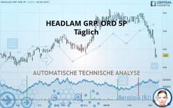 HEADLAM GRP. ORD 5P - Diário
