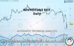 WHITESTONE REIT - Daily