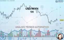 USD/MXN - 1 小时