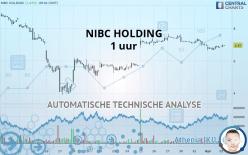 NIBC HOLDING - 1 uur