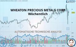 WHEATON PRECIOUS METALS CORP - Veckovis