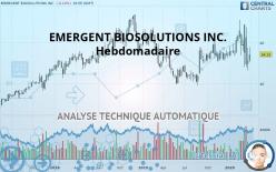 EMERGENT BIOSOLUTIONS INC. - Veckovis