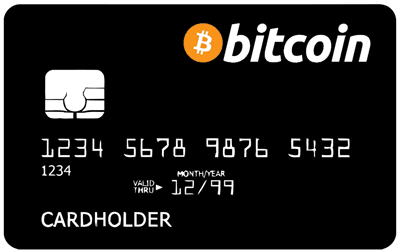 bank card cryptocurrency bitcoin
